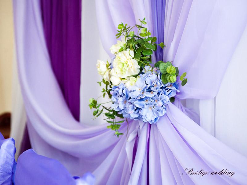 Украсить зал свадьбу шарами  фото 13