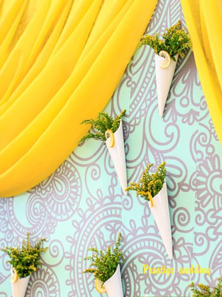 Мятный цвет на свадьбу фото