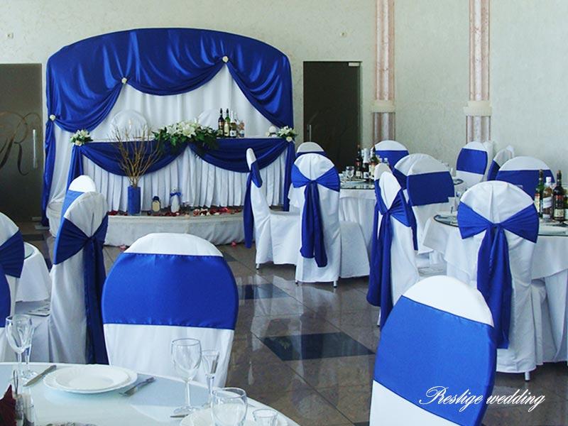 свадьба в синем цвете фото: