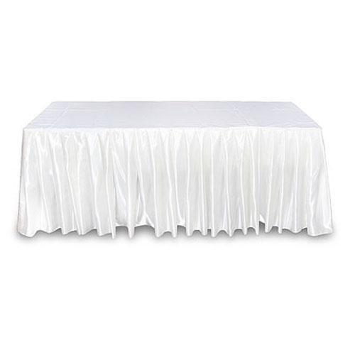 Юбка белая на стол
