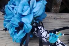 Свадьба в синем и голубом цветах