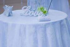 Декор на столике регистратора