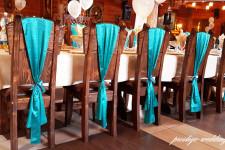 """Ресторан """"Адмирал"""", свадьба в бирюзовом цвете"""