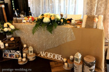 Стиль рустик на свадьбе