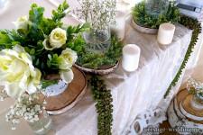 Стиль рустик для свадьбы