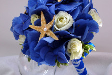 Букет невесты в морском стиле