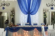 Свадьба в васильковом цвете