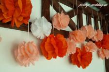 """Оформление в коралловом цвете, """"Колхида"""""""