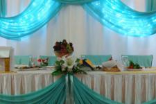 Кафе Малибу, мятная свадьба