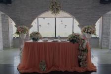Нежная персиковая свадьба