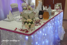"""Кафе """"Молодежное"""", свадьба в фиолетовм цвете"""