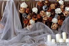 Розы в шоколаде