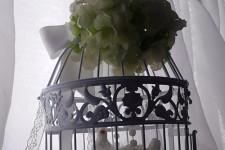 Декоративная клеточка в декоре свадьбы