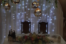 Подсветка стола моодожёнов