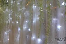 Подсветка ширмы диодами