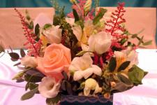 """""""Онегин"""", украшение цветами"""