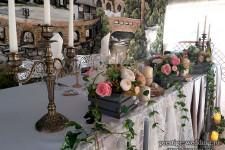 Искуственные цветы в аренду на свадьбу