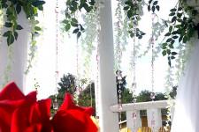 Арка для регистрации и розы