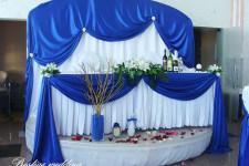 """""""Ренесанс"""", свадьба в синем цвете"""