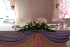 Свадьба в фиолетовом и розовом цвете