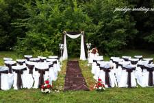 Свадьба в шоколадном цвете