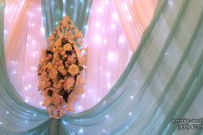 Декоративная рама с цветами